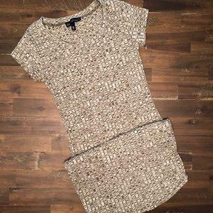 Derek Heart Short sleeves Ribbed Dress